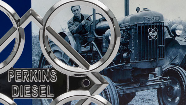 Celebrate Perkins historic engines with our unique badge